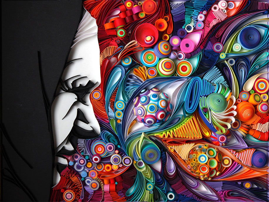 Colorful Illustrations Using Colored Paper by Yulia Brodskaya (1)
