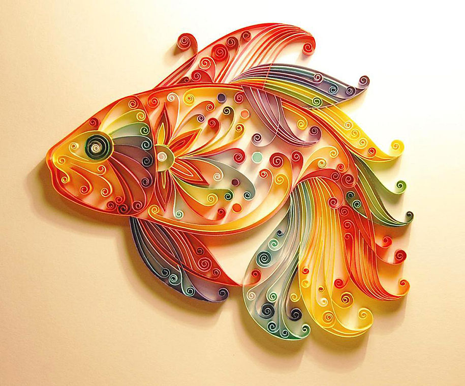 Colorful Illustrations Using Colored Paper by Yulia Brodskaya (3)