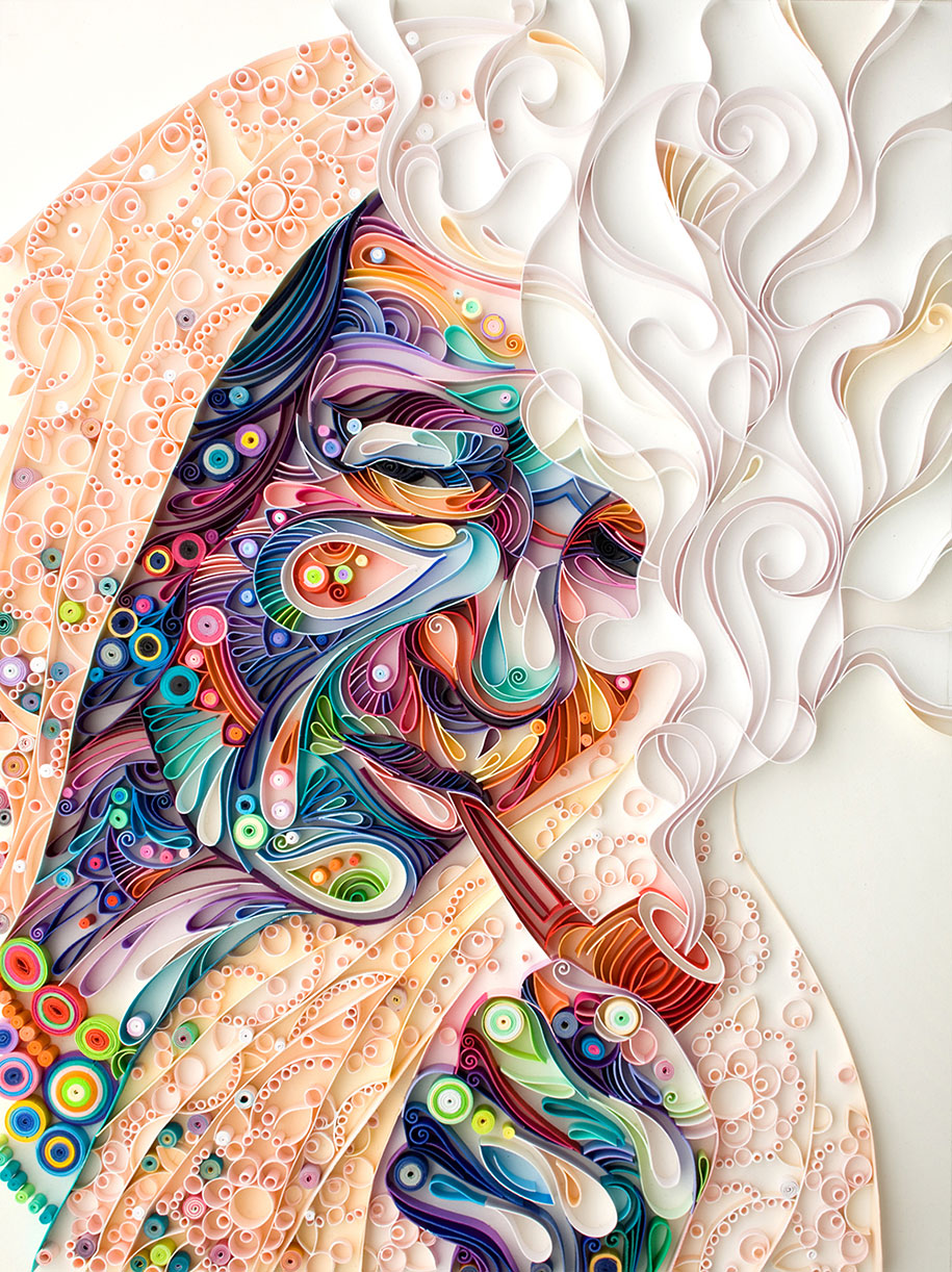 Colorful Illustrations Using Colored Paper by Yulia Brodskaya (7)