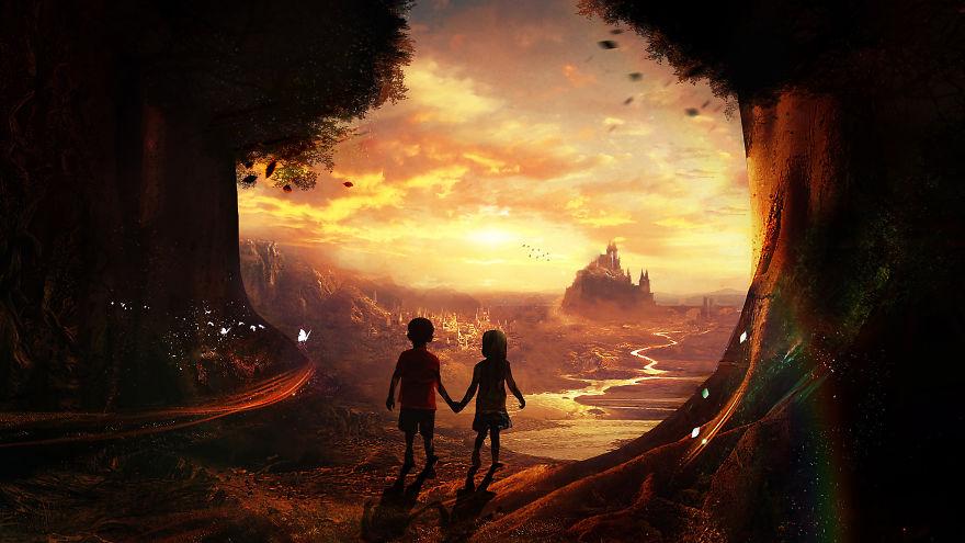Digital Childhood Memories Landscapes By Martina Stipan (18)