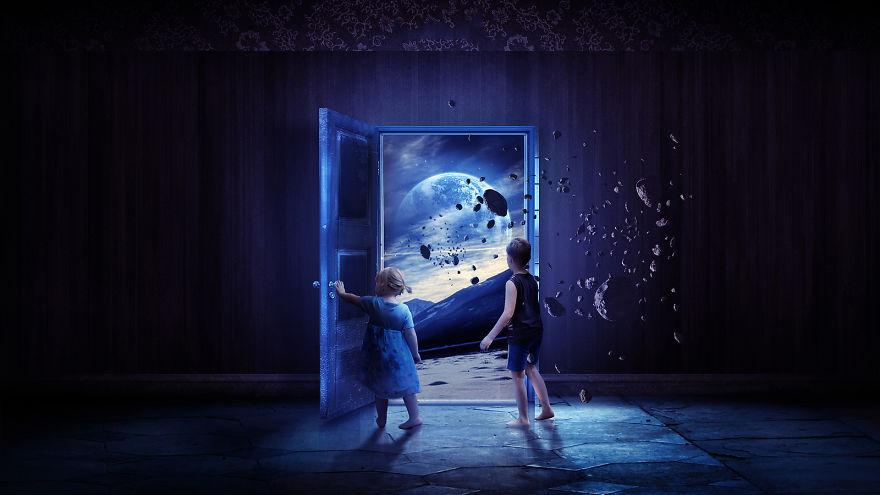 Digital Childhood Memories Landscapes By Martina Stipan (3)