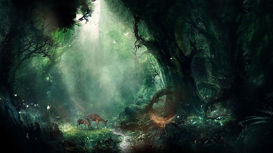 Digital Childhood Memories Landscapes By Martina Stipan (5)