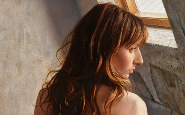 Portrait Paintings by Osamu Obi (1)