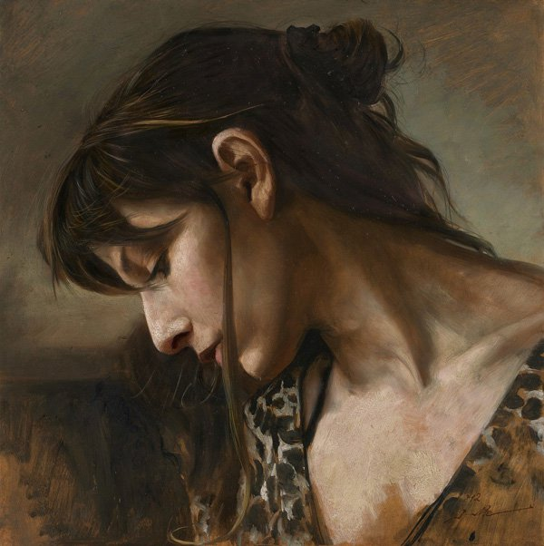 Portrait Paintings by Osamu Obi (10)