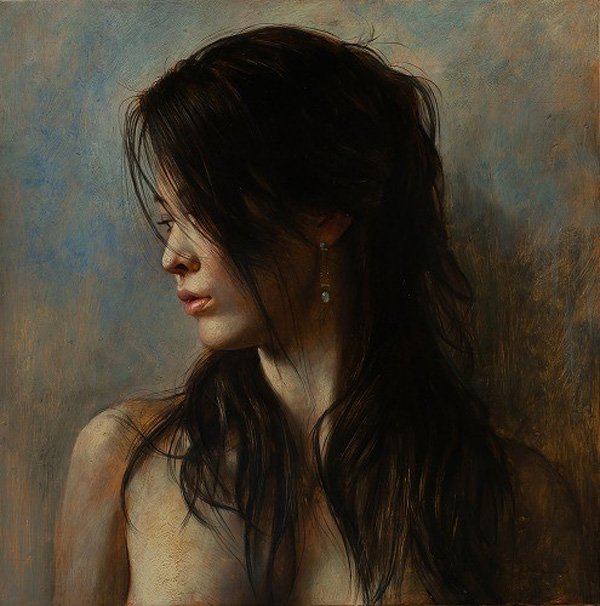 Portrait Paintings by Osamu Obi (12)
