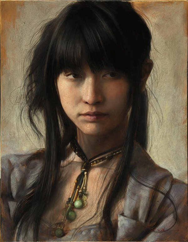 Portrait Paintings by Osamu Obi (15)