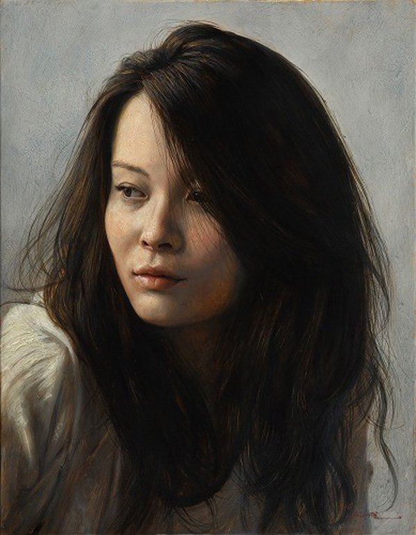 Portrait Paintings by Osamu Obi (16)