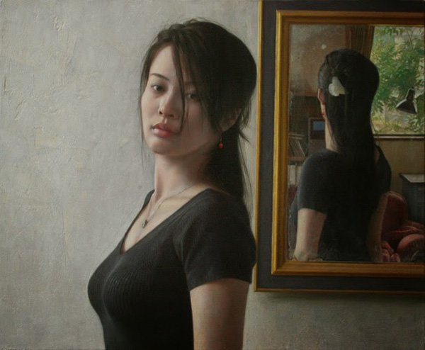 Portrait Paintings by Osamu Obi (4)