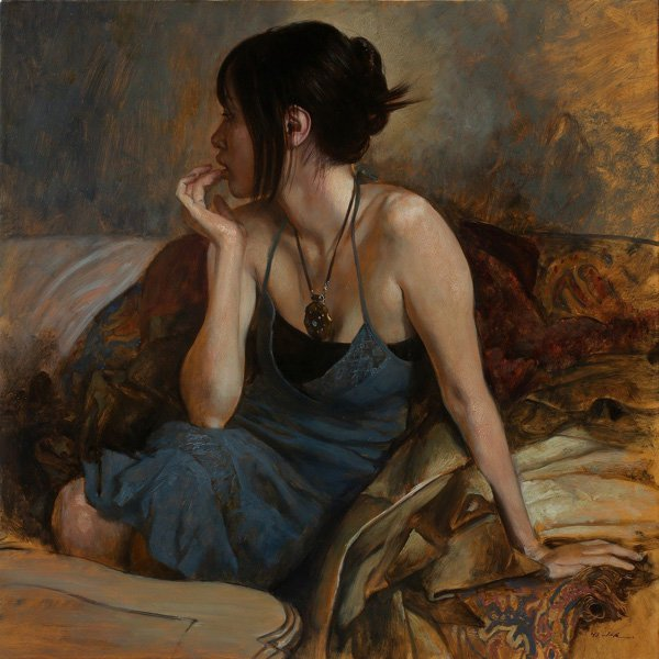 Portrait Paintings by Osamu Obi (9)