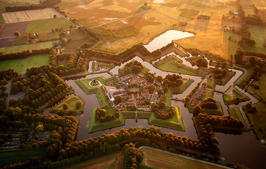 The star fort at Bourtange