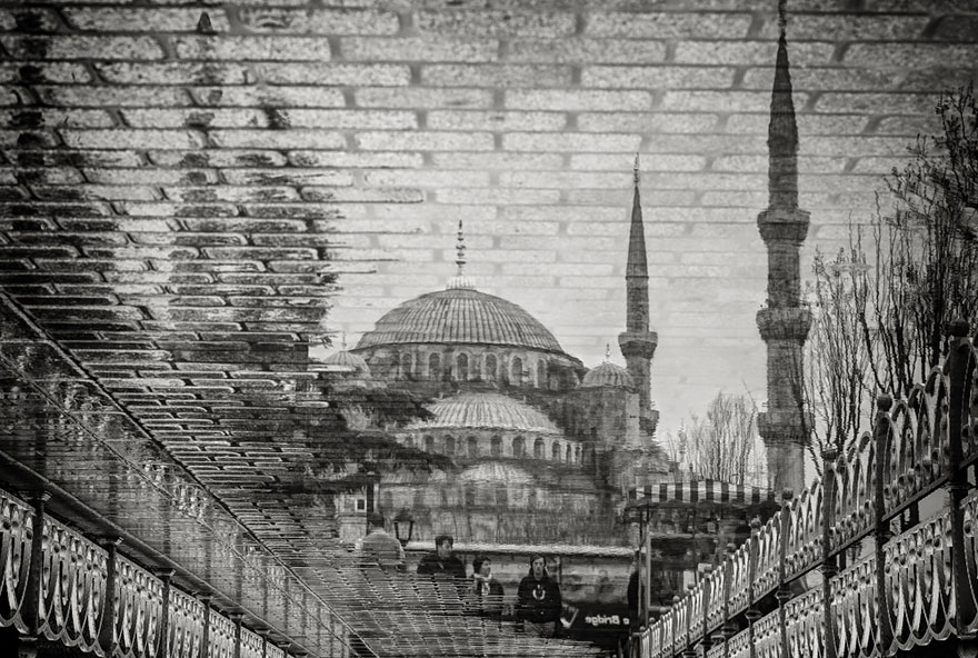 The Blue Mosque in Istanbul, Turkey by Bruno Kolovrat