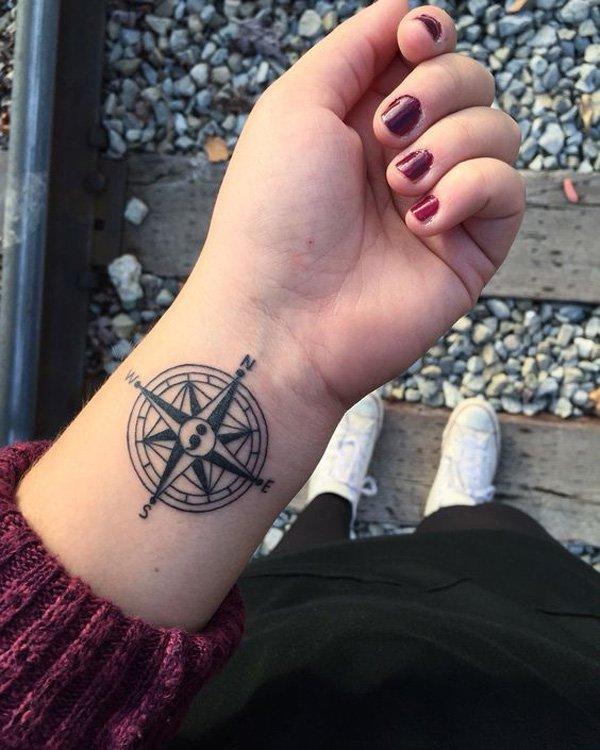 compass-semicolon-tattoo-10