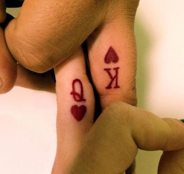 2-Q-and-K-couple-tattoo