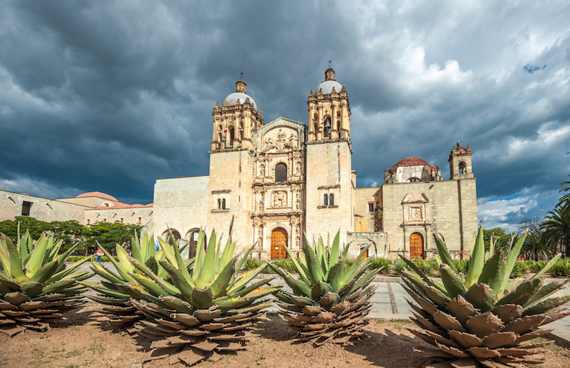 Church of Santo Domingo de Guzmán in Oaxaca, Mexico
