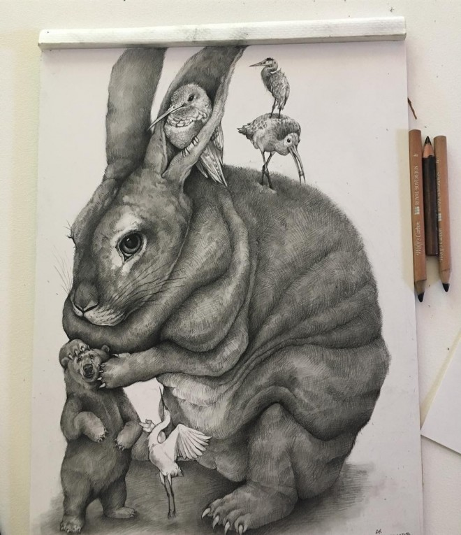 10-rabbit-funny-drawing-by-adonna-khare.preview