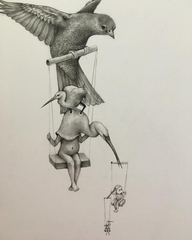 2-bird-funny-drawing-by-adonna-khare.preview