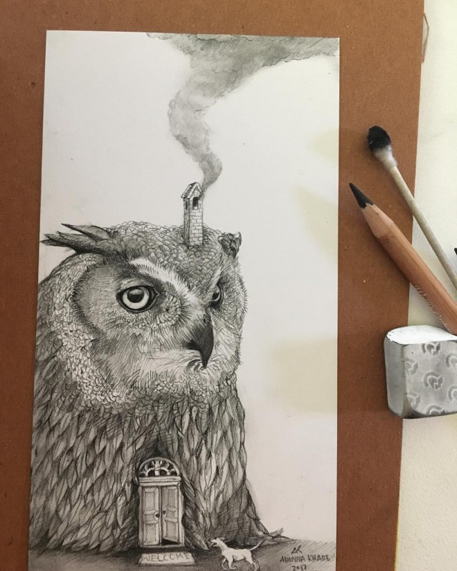 6-owl-house-funny-drawing-by-adonna-khare.preview
