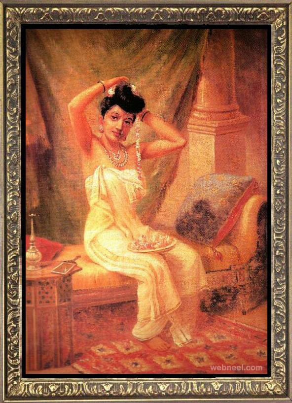 10-lady-dressing-ravi-varma-paintings