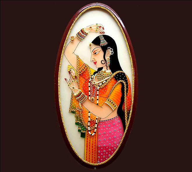 2-rajput-painting-princess-by-cristalartonline
