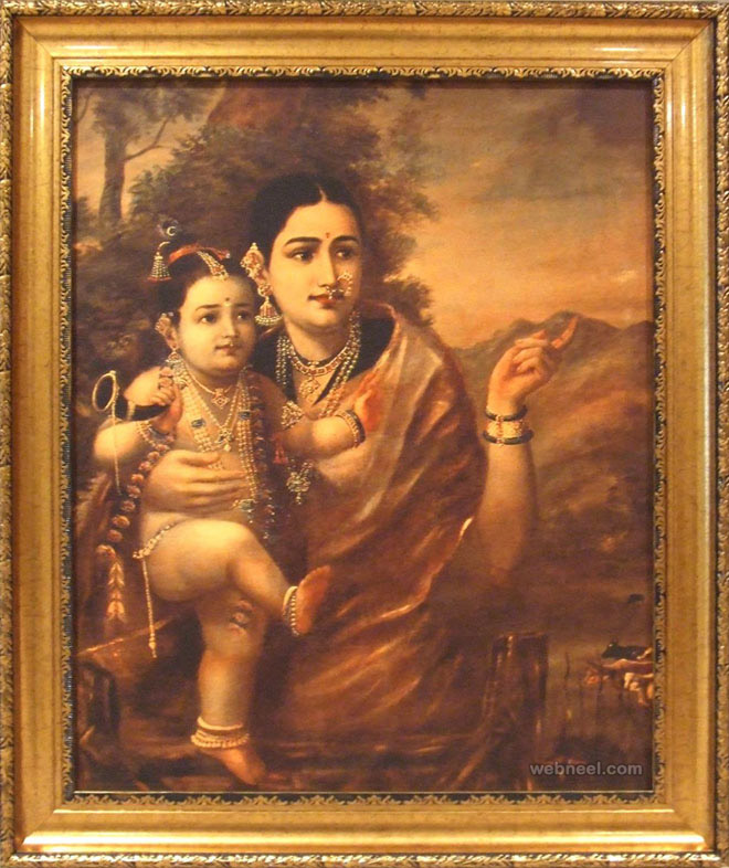 5-yashoda-krishna-ravi-varma-paintings