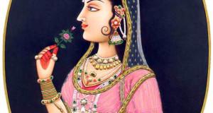 8-queen-princess-rajasthani-rajput-painting-gopalprasad