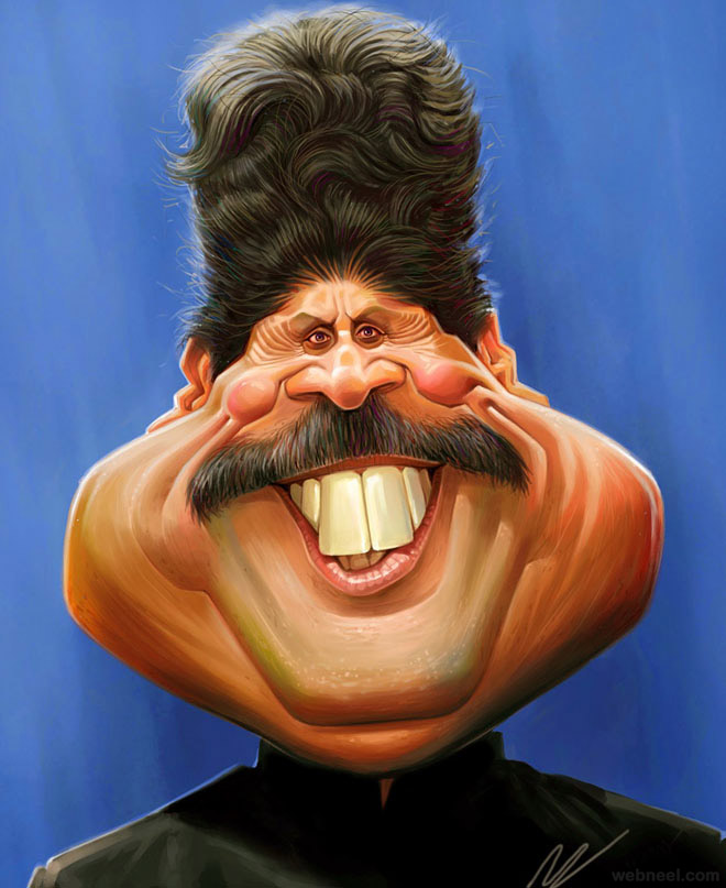 18-kapildev-caricature-by-mahesh