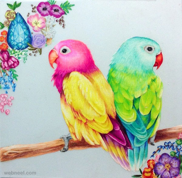 23-birds-drawings