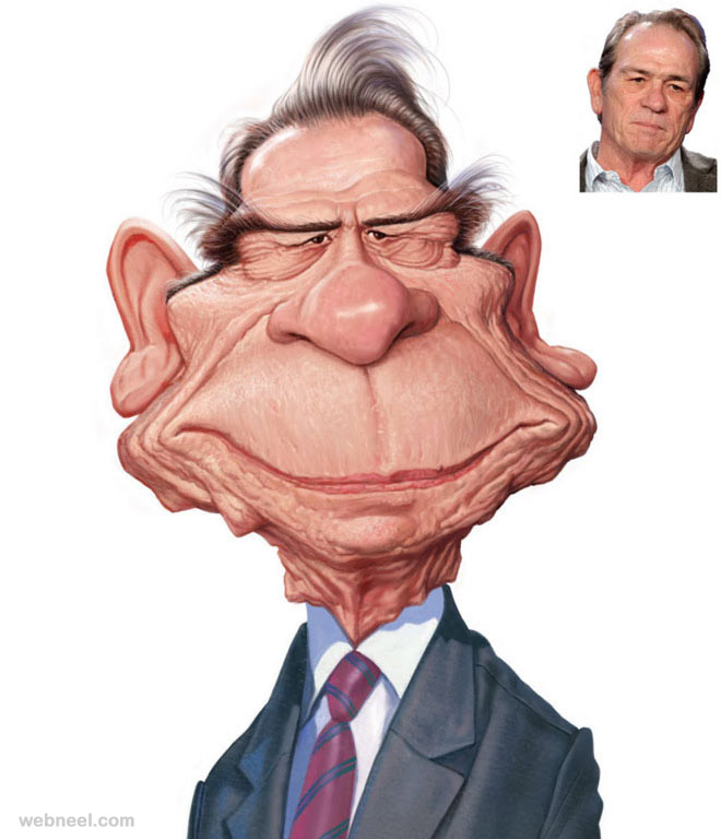 7-tommy-lee-jones-caricature-by-mahesh