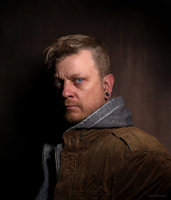 Portrait of Sean Frandsen by Ian Spriggs